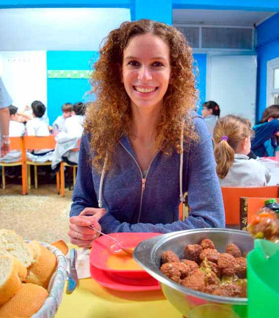 School Lunch in Spain