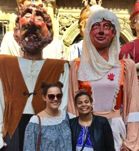 Giants in Pamplona