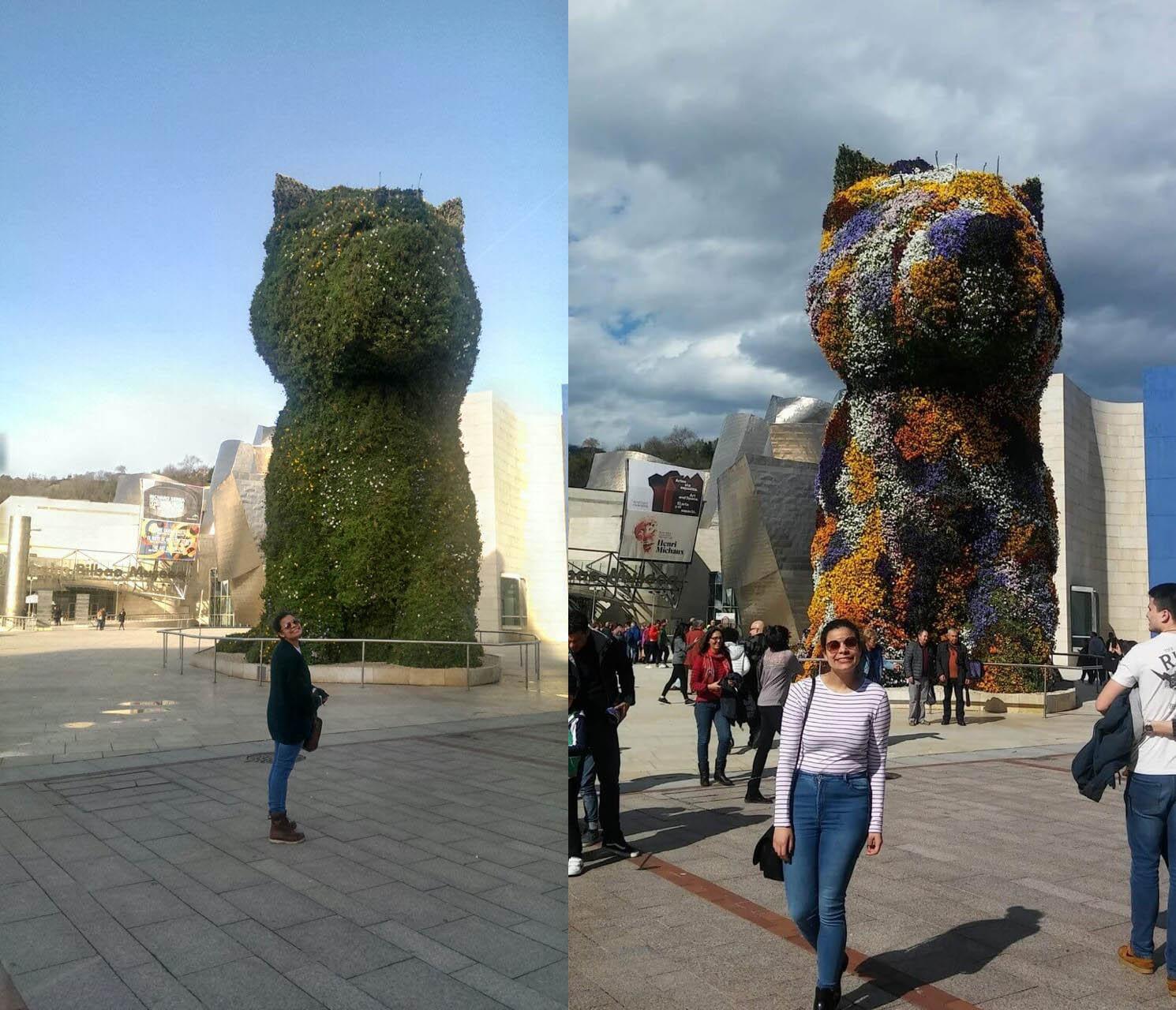 Leslie in Bilbao