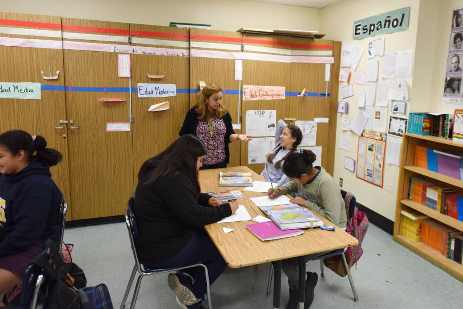 Spanish students in Los Angeles