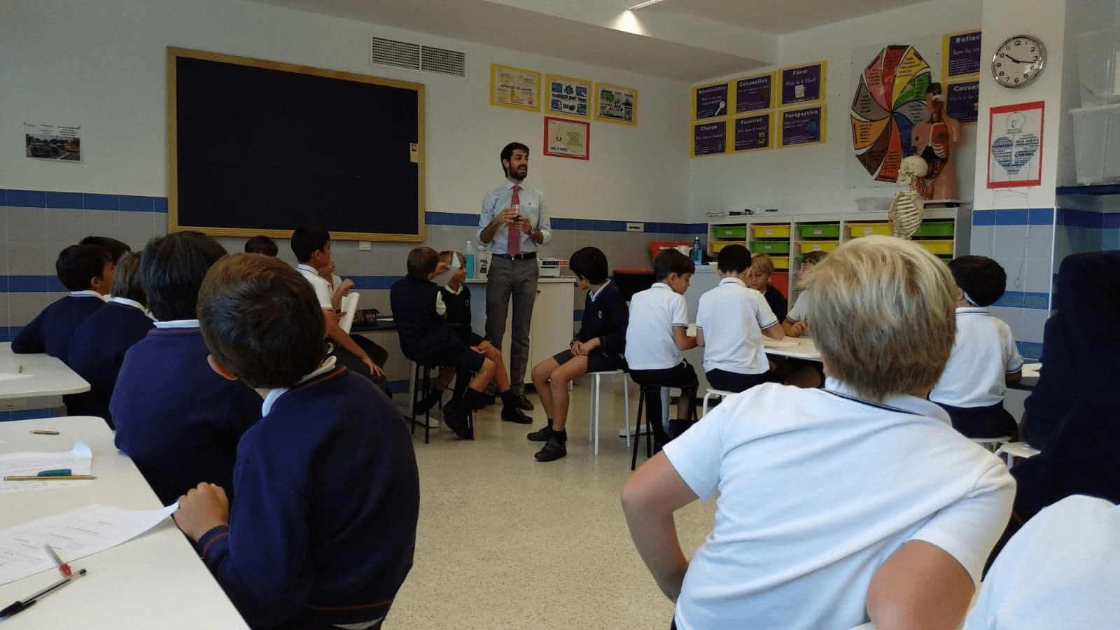 Language Assistant in the classroom