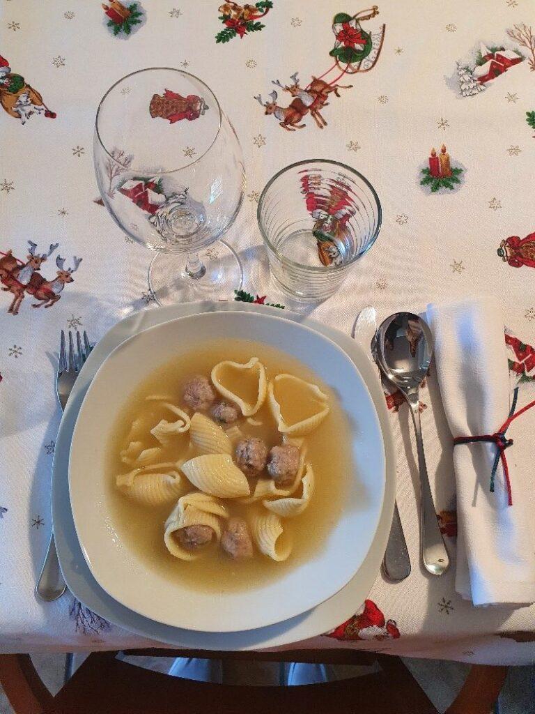 Spanish Christmas soup