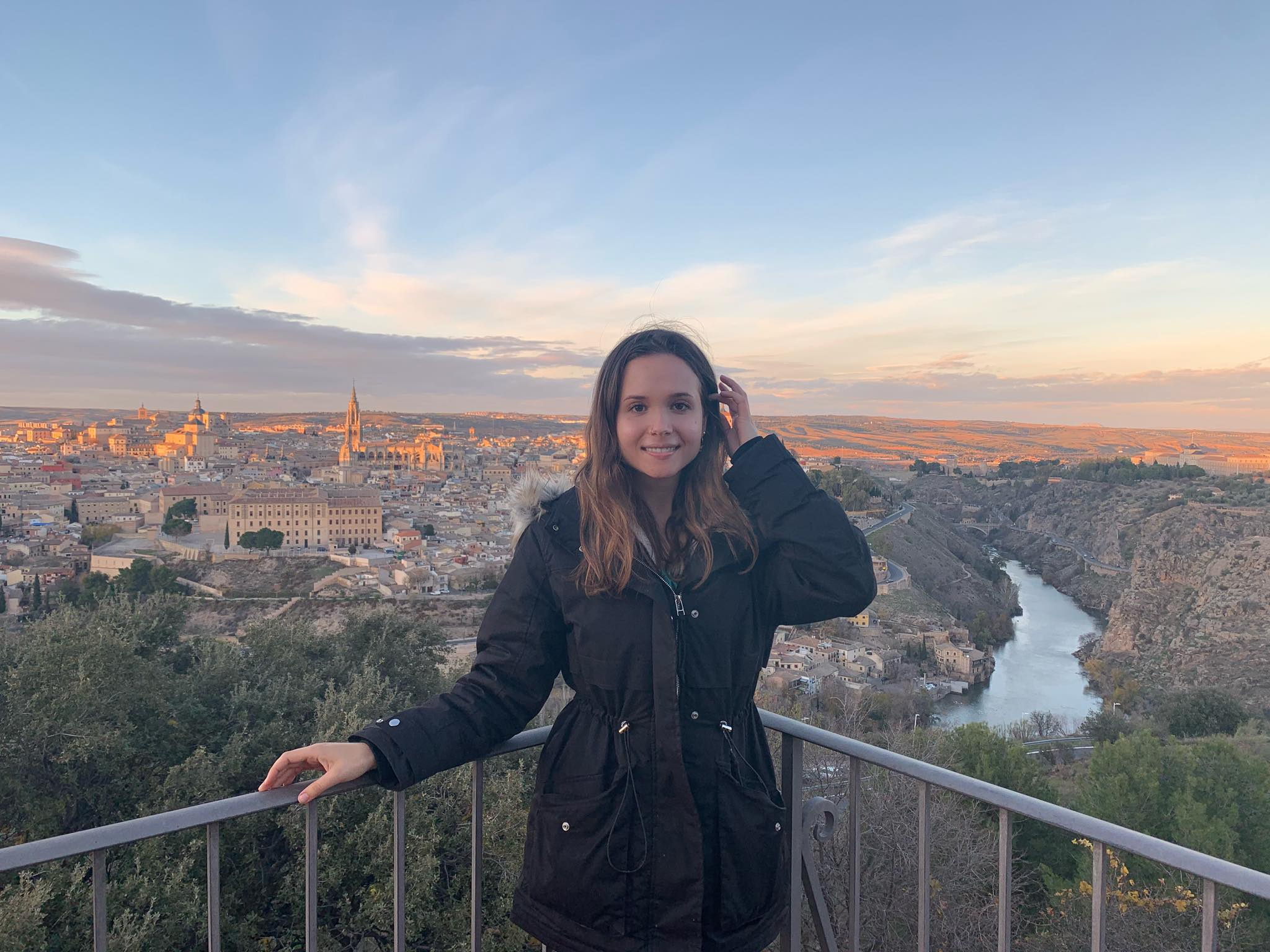 Me and Spanish city