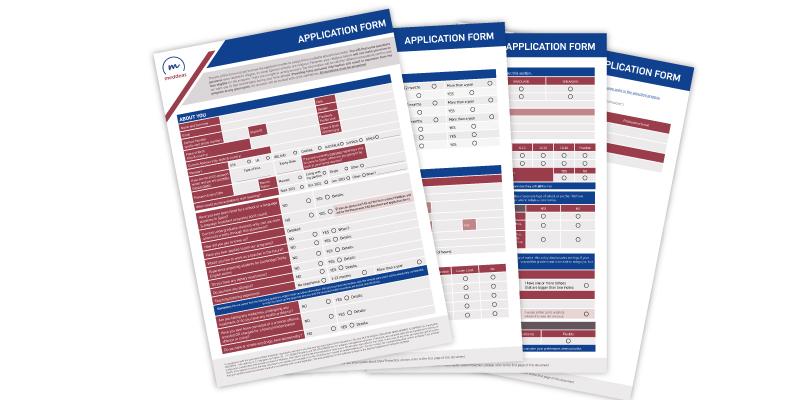Meddeas Application form