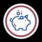 Icon of money